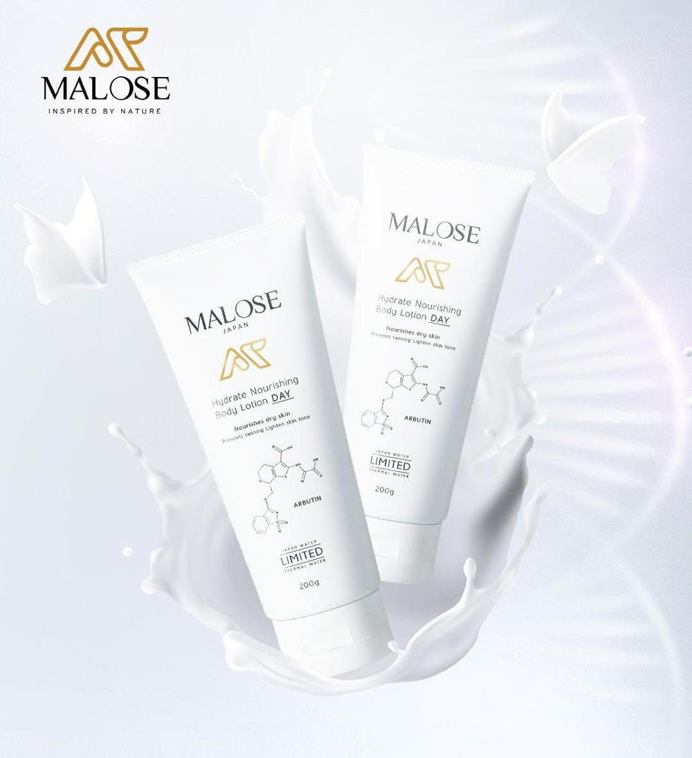 Bộ đôi dưỡng da ngày và đêm của Malose.