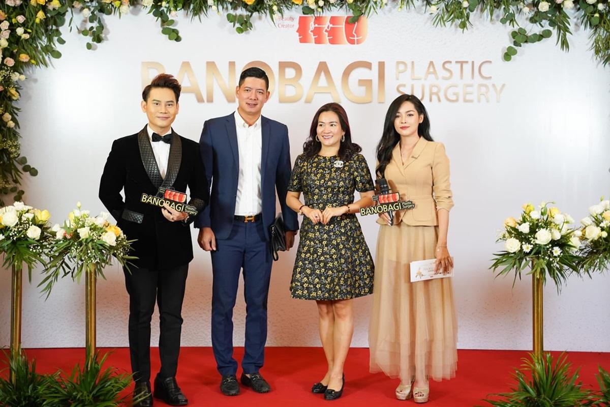 Vợ chồng người mẫu Bình Minh dự sự kiện ra mắt thương hiệu