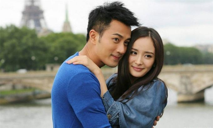 Lưu Khải Uy - Dương Mịch đóng cặp trong phim nhiều năm trước.