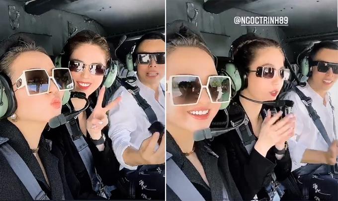 [Caption] lần thứ 2 đến hạ long nhưng lần trước đi lướt, lần đầu tiên trải nghiệm hình thức bay trên vịnh hl bằng máy bay