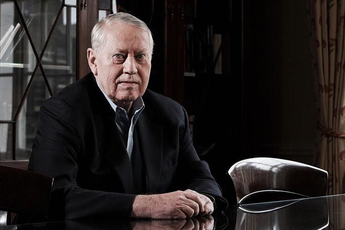 Cựu tỷ phú Charles Chuck Feeney, người quyên góp 8 tỷ USD cho các hoạt động từ thiện, trong đó có Việt Nam. Ảnh: Forbes.