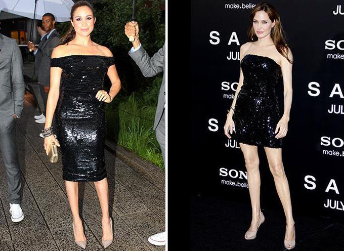 7 lần Meghan Markle học hỏi phong cách Angelina Jolie - 3