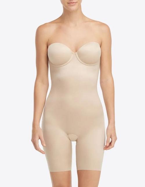 Shapewear dáng quây màu nude là vũ khí bí mật giúp nữ công tước xứ Cambridge có được diện mạo hoàn hảo.