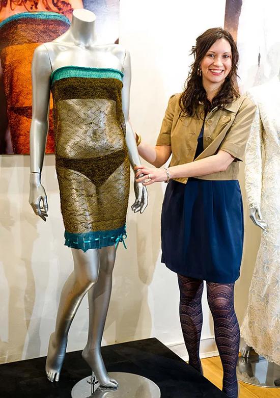 Sự thật về bộ đầm xuyên thấu Kate từng mặc - 2