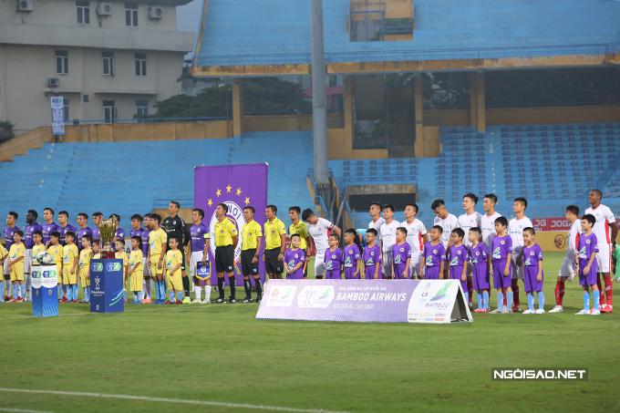 CLB Hà Nội quyết tâm giành chiến thắng để bảo vệ thành công ngôi vô địch. Trong khi đó, Viettel cũng khát khao lần đầu tiên vô địch giải đấu quốc nội.