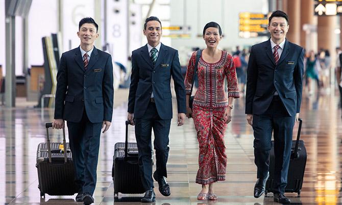Phi công Singapore Airlines đồng ý giảm hơn nửa lương để giữ việc, Ảnh: Singapore Airlines.