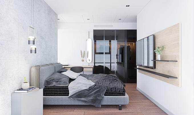 Khi trang trí phòng ngủ, bạn cũng nên lưu ý là không tham quá nhiều món đồ, hãy giữ sự tối giản để giúp không gian được thông thoáng hơn.