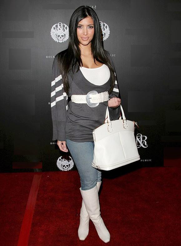 Kim siêu vòng ba trên thảm đỏ năm 2006.