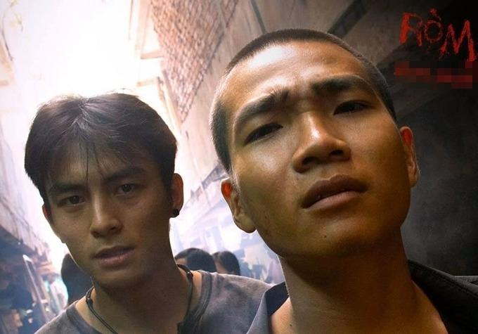 Đây là phim rạp đầu tiên diễn viên Lãnh Thanh (trái) tham gia sau khi Nam tiến, cũng là cơ hội chạm ngõ điện ảnh đầu tiên của HLV Rap Việt - rapper Wowy (phải).