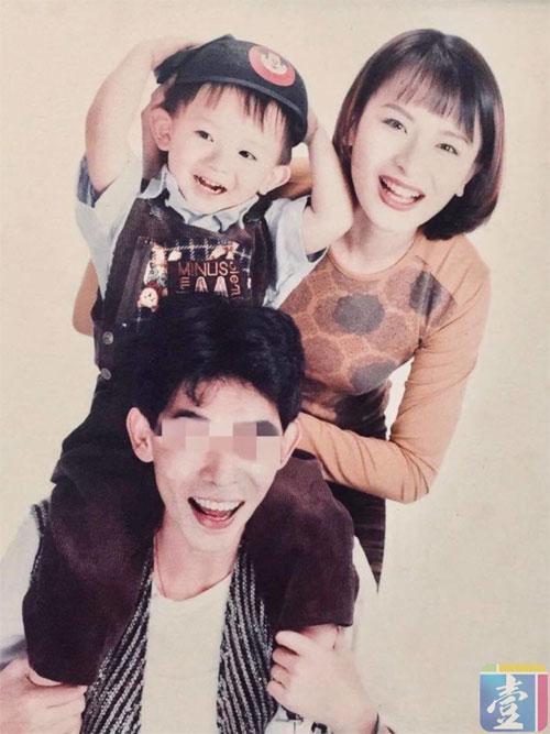Gia đình Tương Bình khi còn hạnh phúc.