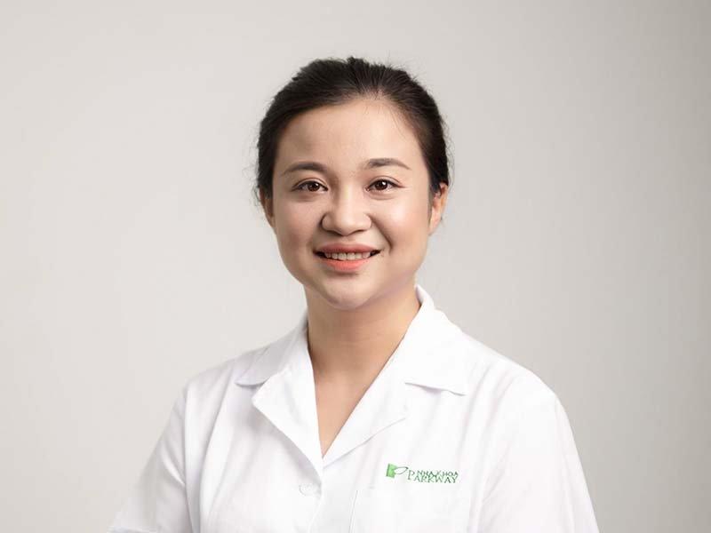 Bác sĩ Lê Kim Dung.