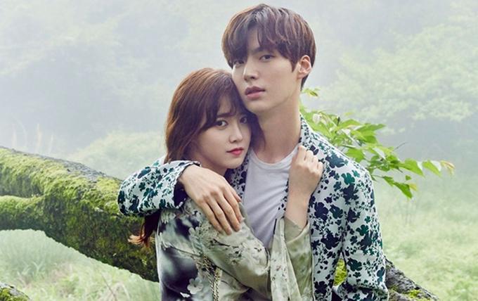 Goo Hye Sun và Ahn Jae Hyun thuở mới cưới.