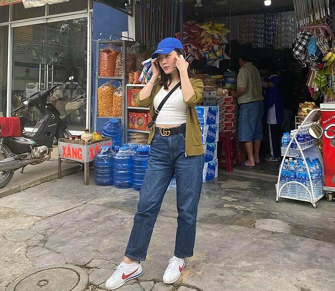 Ca sĩ Phương Linh check in khi có mặt ở Đà Lạt.