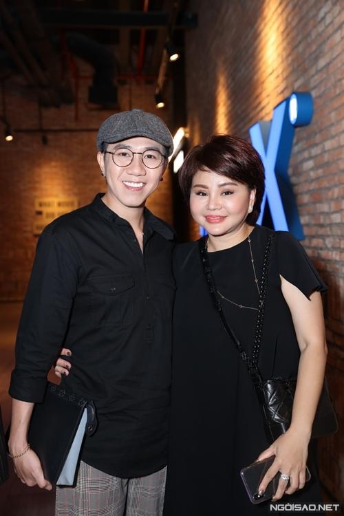 Bộ đôi diễn viên hài Anh Đức - Lê Giang.