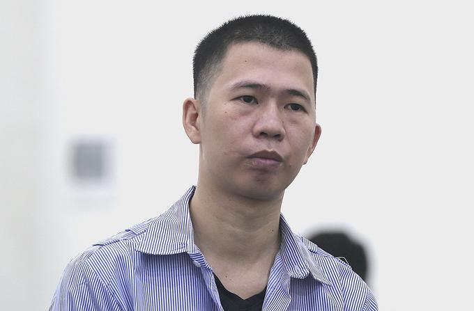 Nguyễn Văn Cảnh tại phiên xét xử. Ảnh: Tuấn Tú.