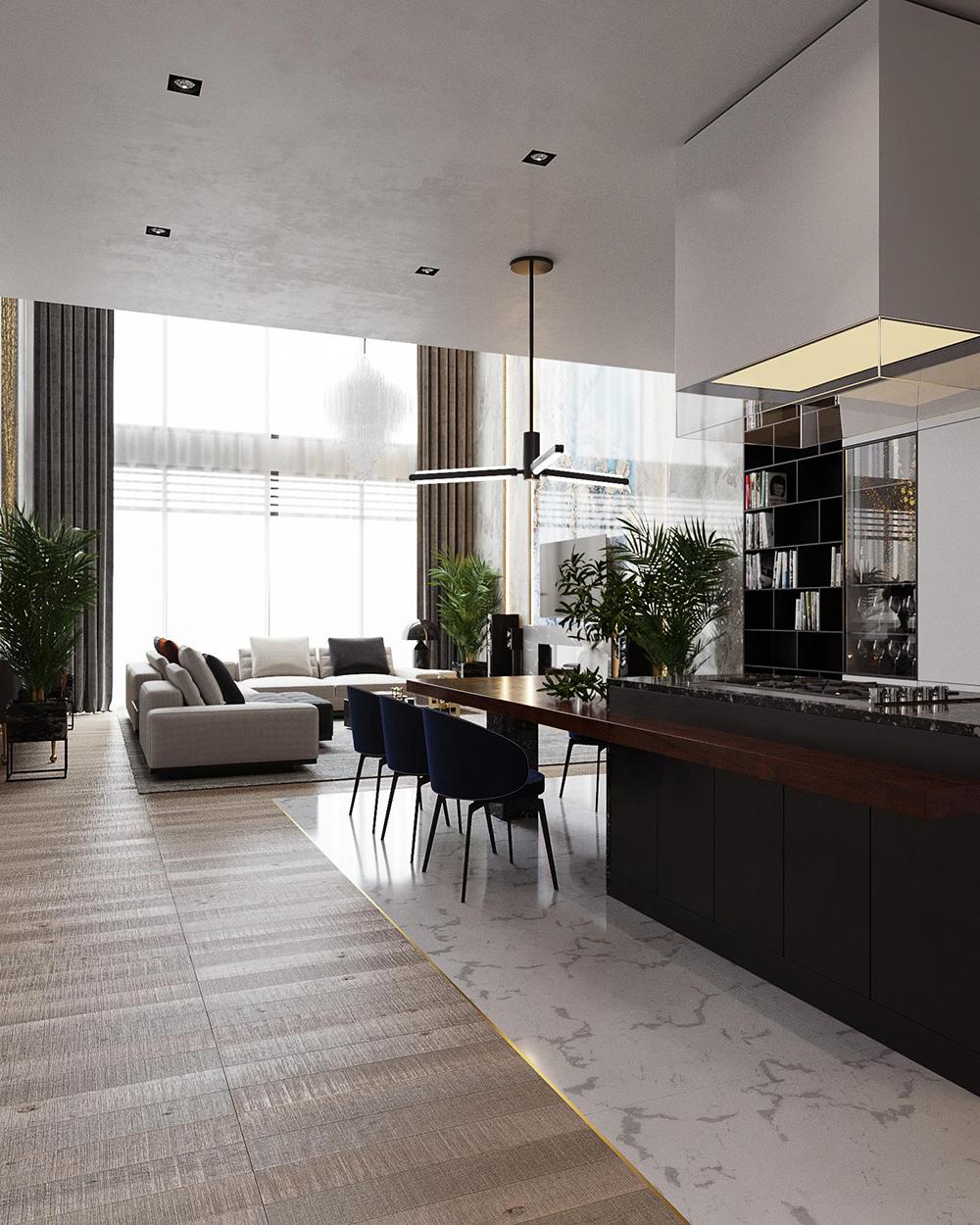 Triệu Gia thực hiện thi công trọn gói, cải tạo nhà ở theo yêu cầu của khách hàng.