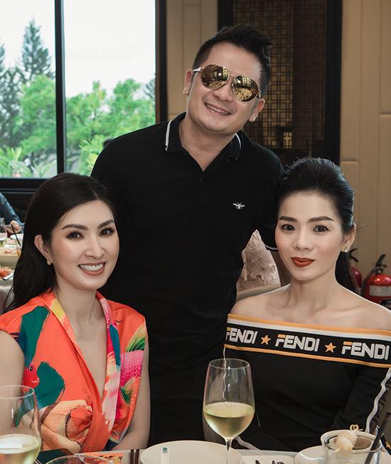 Bằng Kiều, Nguyễn Hồng Nhung và Lệ Quyên hội ngộ ở Sài Gòn, bàn kế hoạch làm Nhungs Show.