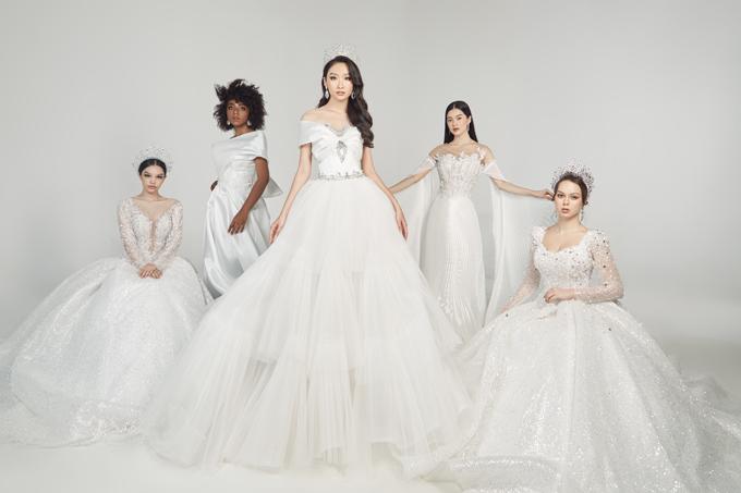 Lần đầu tiên, đội ngũ thiết kế của một thương hiệu váy cưới muốn tạo nên cảm hứng khác biệt bằng cách dựa trên nhu cầu của hơn 20 nàng dâu để phác thảo ra các mẫu đầm tôn dáng, giúp cô dâu chạm tay tới ước mơ công chúa cổ tích ngoài đời thực.