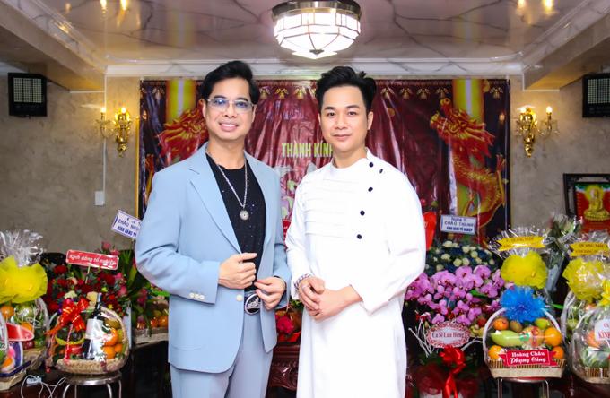 Quách Tuấn Du gọi Ngọc Sơn là cha nuôi. Anh không bao giờ vắng mặt trong các sự kiện do ông hoàng nhạc sến tổ chức.