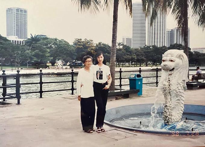 Đảo quốc sư tử Singapore năm 1998 chưa nhiều toà nhà cao tầng như hiện tại.