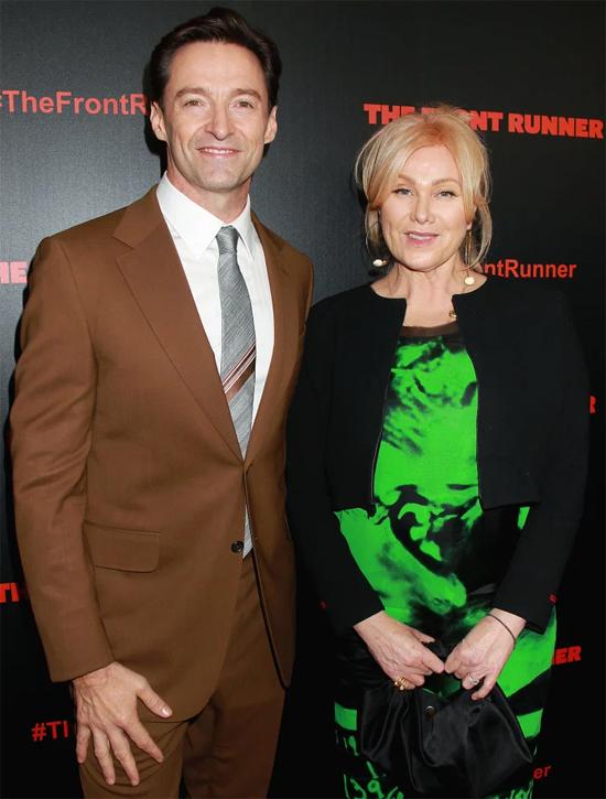 Hugh Jackman và bà xã Deborra-Lee.