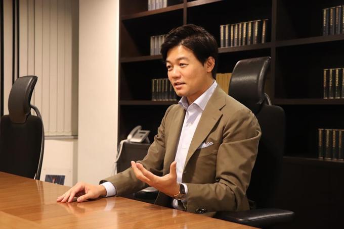 Taichiro Motoe nhà sáng lập công ty Bengo4.com Inc. Ảnh: Bengo4.