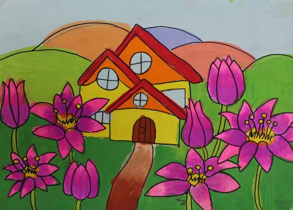được bao quanh bởi hàng nghìn màu sắc của hoa và cây trái. Chắc chắn cả gia đình sẽ có thời gian thư giãn, bầu không khí trong lành, bố mẹ em sẽ mạnh khỏe hơn sau một ngày làm việc mệt mỏi.