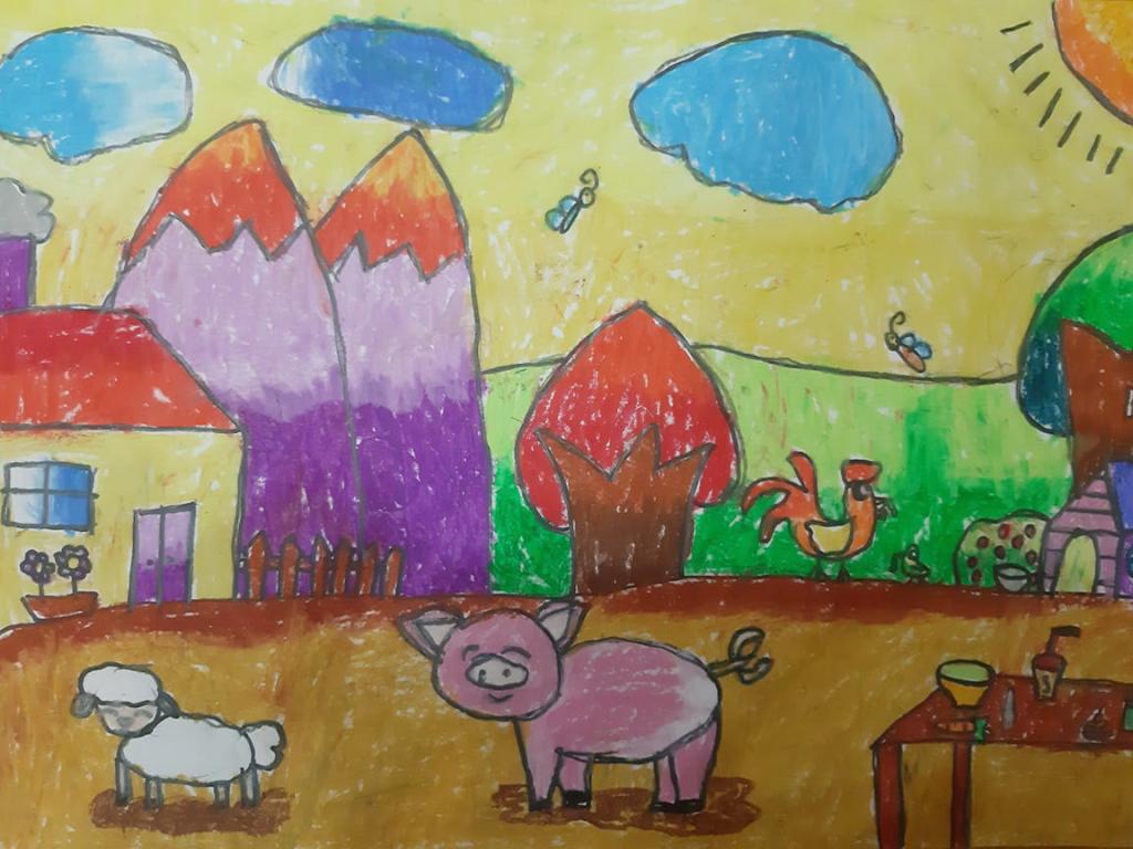 Bé Bảo An (8 tuổi) thích cuộc sống bình dị với nông trại cỏ cây xanh tốt, được cùng các bạn chăm sóc đàn gia súc, thả diều trên đồng, ngắm trăng...  Bé được tha hồ cười nói, vui chơi. Ở vùng quê yên bình, bé còn cảm nhận tình cảm giữa người với người, ai cũng hiền lành, tốt bụng.