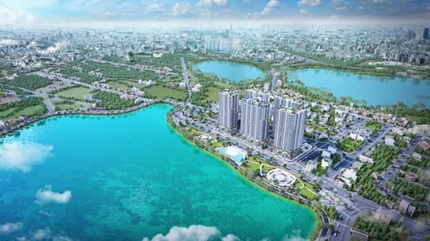 Nhiều khách hàng hài lòng với thiết kế và không gian xanh của dự án.