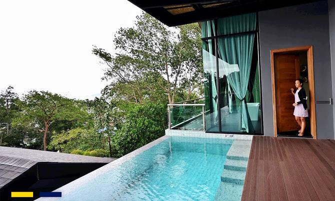 Resort 5 sao ở Thái Lan mở gói cách ly - 1