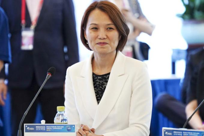 Bà Joey Wat tại Diễn đàn Boao của Hội nghị thường niên Châu Á năm 2018. Ảnh: VCG.