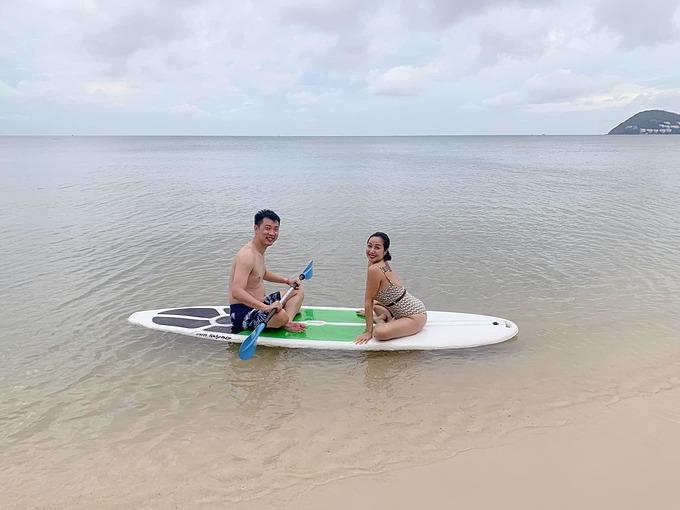 Ốc Thanh Vân và chồng tận hưởng chuyến du lịch nghỉ dưỡng tại Phú Quốc.