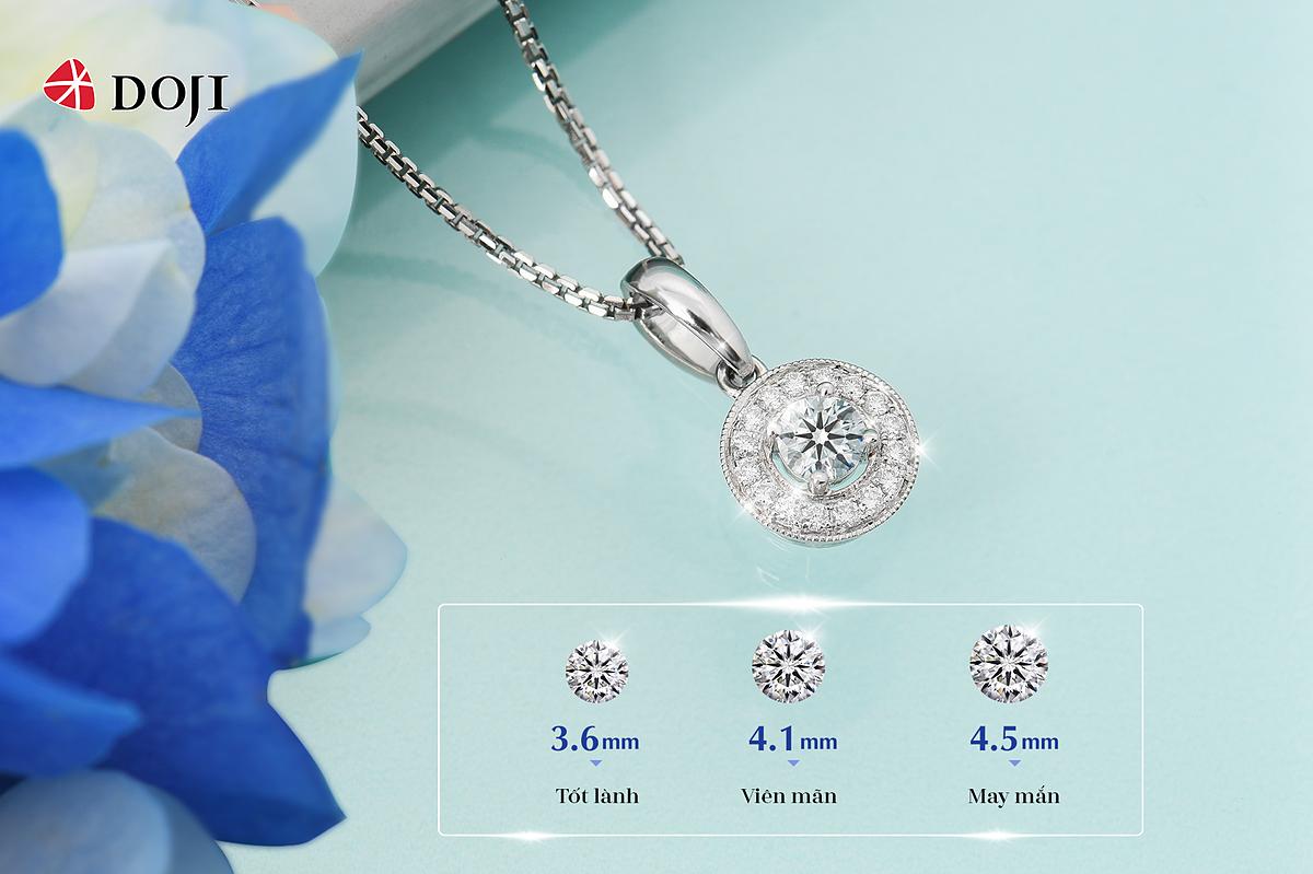 Mỗi thiết kế kim cương trong bộ sưu tập The Wonder Things đều gửi gắm một ý nghĩa đặc biệt. ẢNh: DOJI
