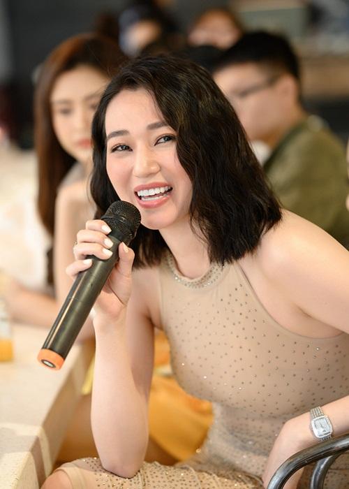 Khánh My mong muốn góp sức cùng Xuân Lan lan tỏa ý nghĩa của chuỗi talkshow và đẩy lùi các vấn nạn trong xã hội.