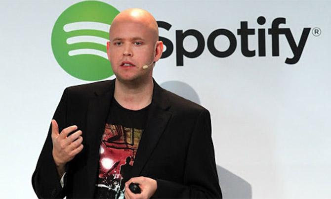 Daniel Ek, nhà đồng sáng lập kiêm CEO Spotify. Ảnh: BI.