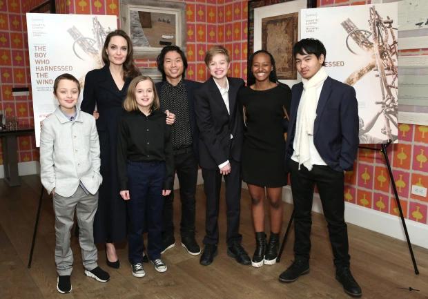 Từ khi đệ đơn ly hôn, Angelina Jolie tạm thời được quyền nuôi 6 người con, Brad Pitt được đến thăm.