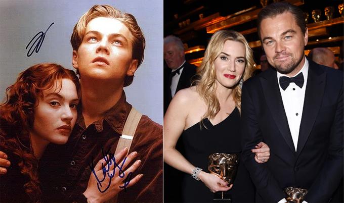 Kate Winslet và Leonardo Dicaprio tạo nên tình yêu bất hủ trên màn ảnh với phim Titanic năm 1997. Nhưng ngoài đời hai ngôi sao không nảy nở phim giả tình thật như nhiều đôi bạn diễn khác. Nàng Rose và chàng Jack đã kết bạn thân từ ngày đó, sau này tiếp tục hợp tác trong bộ phim Revolutionary Road năm 2008. Chúng tôi may mắn khi có nhau và rất vui vì gìn giữ được tình cảm này. Cả hai tin tưởng tuyệt đối vào nhau, không hề có giới hạn. Đó là điều thực sự khó tìm trong cuộc sống, Kate chia sẻ về Leonardo.