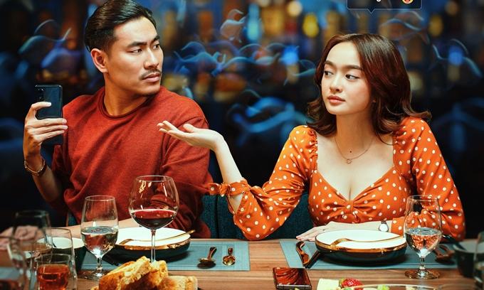 Kiều Minh Tuấn lừa dối Kaity Nguyễn trong lần tái hợp trên phim.