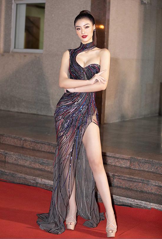 Kiều Loan bán kết Hoa hậu Việt Nam 2020 tối 10-10