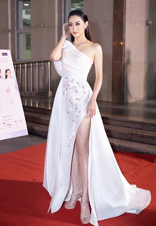 Lương Thùy Linh bán kết Hoa hậu Việt Nam 2020 tối 10-10