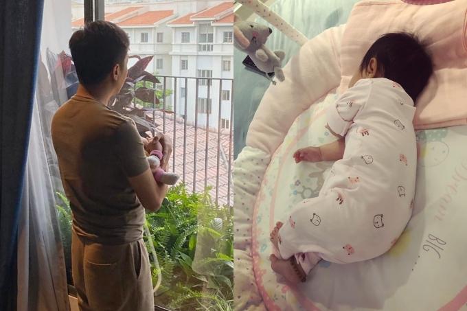 Hiểu vợ vất vả, Cường Đôla cố gắng giành phần chăm sóc Suchin: ru con ngủ, chơi đùa với con... Đàm Thu Trang cảm thấy hạnh phúc trước sự hỗ trợ từ chồng. Nhờ vậy, cô có thể ra ngoài gặp gở bạn bènếu phù hợp.