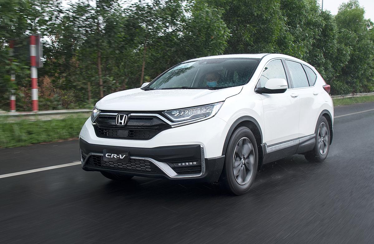 Honda CR-V là mẫu xe đã được nhiều người dùng Việt Nam lựa chọn làm người bạn đồng hành cho gia đình.