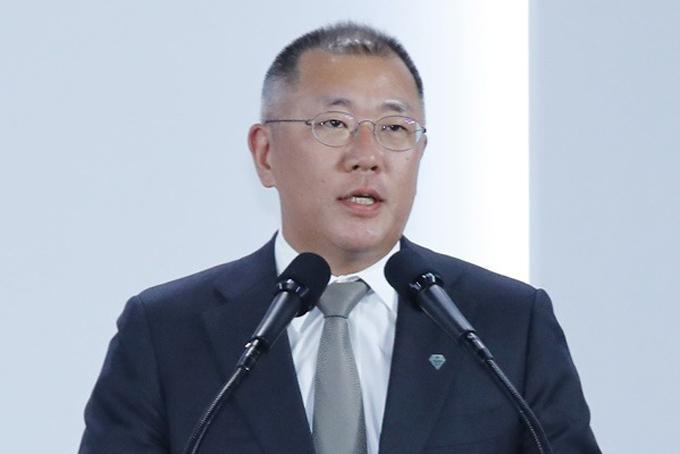 Ông Chung Eui-sun, tân chủ tịch của Tập đoàn Hyundai.