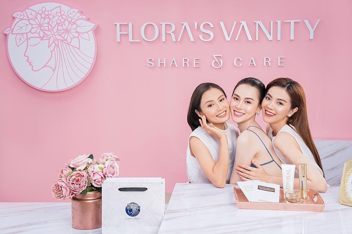 Flora's Vanity ra đời, trở thành một điểm hẹn làm đẹp cho các bạn gái.