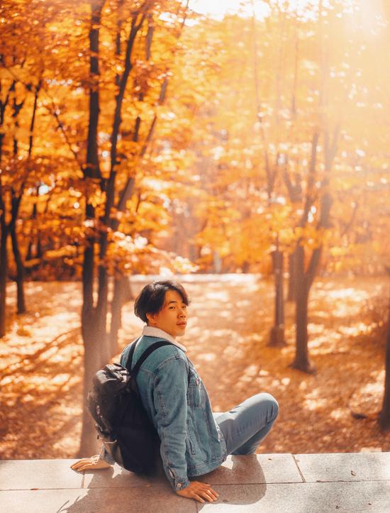 Công viên Namsan là địa điểm cho những ai không có thời gian đi xa khỏi thành phố. Khác với tháp Namsan luôn luôn phủ kín người, công viên Namsan là một khu rừng đầy lá vàng, đẹp và vắng vẻ. Do không phải địa điểm du lịch nổi tiếng, công viên là địa điểm người dân khu vực này đến đây để tản bộ, chỉ cách trung tâm mua sắm Myeondong tầm 15 phút đi bộ.