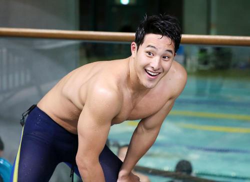 Seto được coi là nam thần bơi lội xứ mặt trời mọc với gương mặt điển trai, body săn chắc. Ảnh: Instagram.