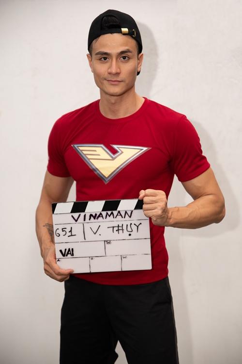 Siêu mẫu - diễn viên Vĩnh Thụy là một trong 10 ứng viên lọt vào vòng trong của quá trình thử vai nam chính phim Vinaman. Đây là dự án đầu tiên anh casting sau tuyên bố trở lại showbiz.