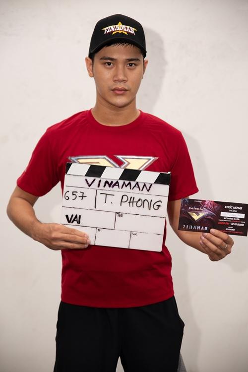 Trần Phong - chàng Dũng bad boy của phim Mắt biếc cũng có tên trong top 10.