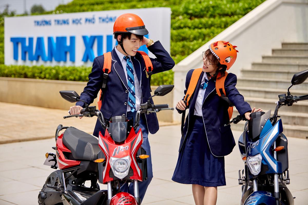 Các mẫu xe máy điện YADEA mang phong cách hiện đại, thời trang, thích hợp cho các bạn trẻ.