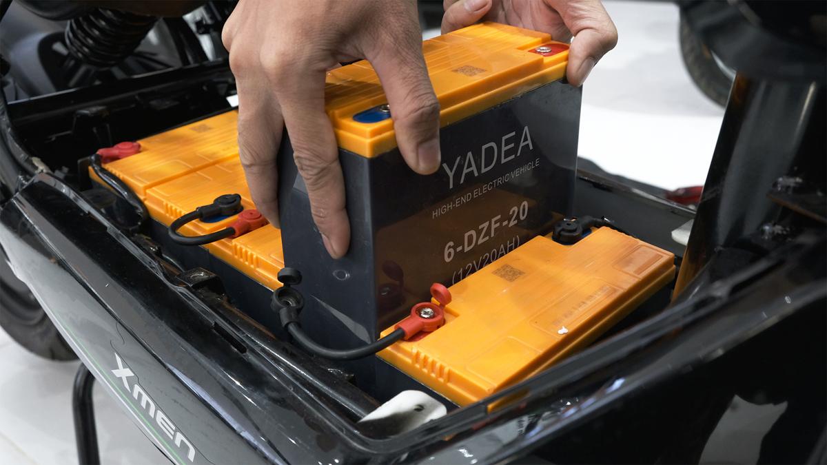 Pin Lithium cao cấp và ắc quy Graphene thế hệ mới của YADEA